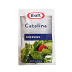 Kraft Catalina Dressing F02-0000309-1300 -1.5 oz catalina flavor salad dressing in individually sealed single serving pouch. O grams trans fat per serving.