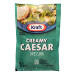 Kraft Signature Caesar Dressing - 1.5 oz F02-0000323-1300 - 1.5 oz creamy caesar flavor salad dressing in individually sealed single serving pouch.