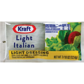 Kraft Light Italian 7 16 Oz Travel Size Amp Miniature