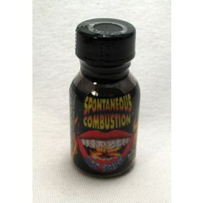 Ass Kickin' Spontaneous Combustion Hot Sauce F03-0340113-3100 - 0.75 oz hot sauce in plastic bottle. A convenient travel size for on the go.