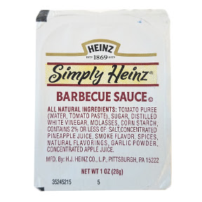 Heinz® Simply Heinz® Barbecue Sauce Cup F03-3100101-2301