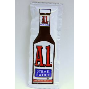 A1 Steak Sauce Packet Travel Size Amp Miniature Products Superstore