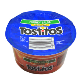 Tostitos 174 Medium Chunky Salsa To Go Cup Travel Size
