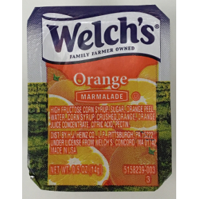 Welch S Natural Jelly Nutrition