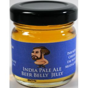 Colorado Mountain Jam India Pale Ale Beer Jelly F04-0073008-3200 - 1.5 oz India Pale Ale Beer Jelly in glass jar. A convenient travel size for on the go.