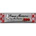 Bonne Maman Raspberry Mix Preserves Packet F04-1044430-1100 - 0.5 oz in individually sealed squeeze packet.