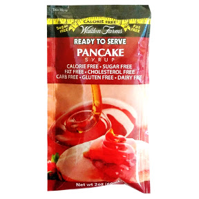 Walden Farms Pancake Syrup F05-0048501-1200 - 2 fl oz pancake syrup in individual size packet. Calorie Free. Sugar Free. Fat Free. Carb Free. Gluten Free. A convenient travel size for on the go.