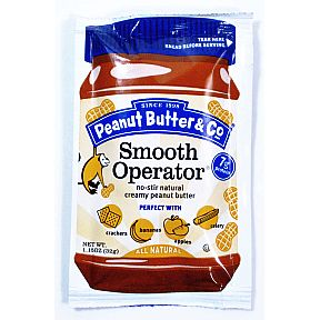Peanut Butter & Co Smooth Operator Squeeze Pack (1.15 oz) F06-0139401-1200 - 1.15 oz squeeze packet.