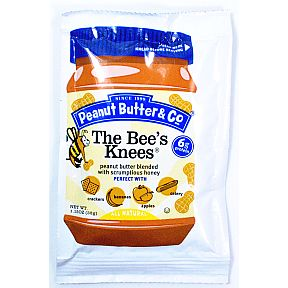 Peanut Butter & Co The Bee's Knees Squeeze Pack  (1.15 oz) F06-0139403-1200 - 1.15 oz squeeze packet.