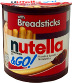 Nutella & Go! F06-0342902-8100-1.8 oz Nutella® & Go in individually sealed plastic container.