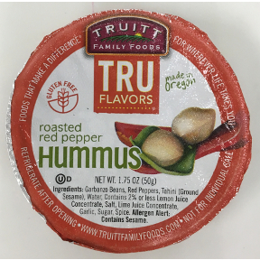 Truitt Family Foods TRU Flavors Roasted Red Pepper Hummus, F06-0486602-2300