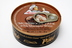Giovanni's Mushroom Pate - with Marsala wine F06-1267601-2500 - 2 3/4 oz mushroom pate with Marsala wine in tin can with opening pull tab.