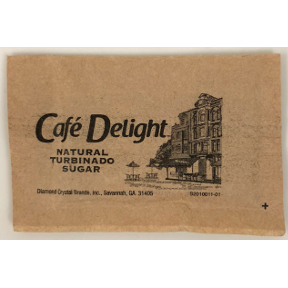 Café Delight Natural Turbinado Sugar Packet