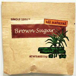 Diamond Crystal All Natural Brown Sugar Packet Travel