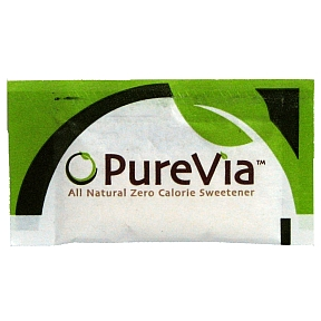PureVia Sugar Substitute F08-0259600-1000 - 2g of sugar substitute in individual size packet. A convenient travel size for on the go.