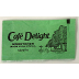 Café Delight Sweetener made from Stevia Packet, F08-0288901-1100