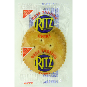 Nabisco Ritz Crackers - 2 pack F09-0109603-8100 - 2 cracker package