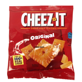 Cheez-It® Baked Snack Crackers Original, F09-0124711-8200