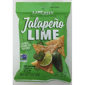 Late July® Clasico Tortilla Chips Jalapeno Lime, F09-0135104-8200