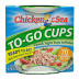 Chicken of the Sea® Chunk Light Tuna Cups F10-0256001-2100-Two 2.8 oz. cups of light tuna. 70 Calories per cup.