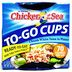 Chicken of the Sea® Chunk White Tuna Cups F10-0256014-2100-2 - 2.8 oz. to-go cups. 70 calories per cup. Ready-To-Eat.