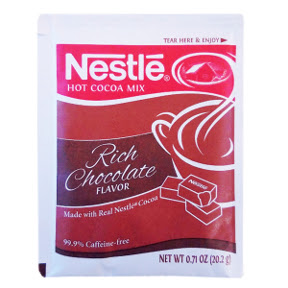 Nestle Rich Chocolate Flavor Hot Cocoa Mix F20-1002401-7100 - 0.71 oz rich chocolate flavor hot cocoa beverage mix in individual size packet. A convenient travel size for on the go.