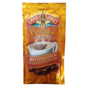 Land O Lakes Cocoa Classics® Butterscotch and Chocolate F20-1006206-7200-1 1/4 oz. Butterscotch and Chocolate flavored Hot Cocoa Mix in individual sealed package. A convenient travel size for on the go.