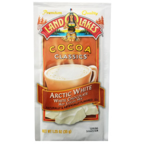 Land O Lakes Cocoa Classics Arctic White F20-1006215-7200 - 1 1/4 oz in individually sealed package.