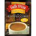 Caffe Dvita® Cappuccino - English Toffee F20-1334906-8200-1/2 oz. packet premium instant cappuccino.