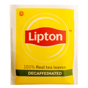 Lipton Tea Naturally Decaffeinated Tea Bag Travel Size