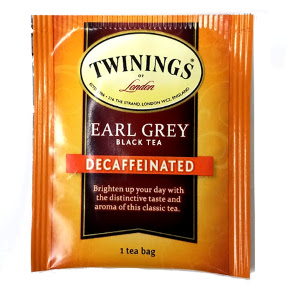 Twinings of London Earl Grey DecaffeinatedTea F20-1626902-0010