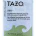 Tazo Zen Green Tea and Herbal Infusion F20-1708509-0000 - Single tea bag in sealed packet. A harmonious blend with lemongrass & spearmint.