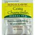 Bigelow Cozy Chamomile Herb Tea F20-1823809-0000 - Single tea bag in sealed packet. Natural. No caffeine. A relaxing herb tea, so delicate and soothing.