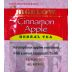 Bigelow Cinnamon Apple Herb Tea F20-1823810-0000 - Single tea bag in sealed packet. Natural. No caffeine. A delicious blend of apples and cinnamon.