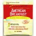 Bigelow® American Breakfast Black Tea and Lemon F20-1823823-0000-Single tea bag in sealed packet.