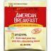 Bigelow® American Breakfast Black Tea and Honey F20-1823824-0000-Single tea bag in sealed packet.