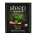 Steep by Bigelow® Organic Mint Tea F20-1823851-0000-a single tea bag in sealed packet.