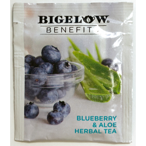 Bigelow® Benefits RADIATE BEAUTY - Blueberry & Aloe Herbal Tea, F20-1823858-0000