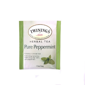 Twinings® of London Pure Peppermint Herbal Tea F20-1826904-0000