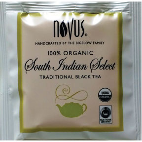 Novus® Organic Fair Trade South Indian Select F20-1839808-0000 - Single bag in sealed package.