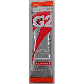 Gatorade Perform 02 Powder Packet G2 - Fruit Punch F20-2315134-7100