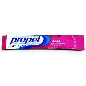 propel® zero - Berry F20-2354213-0100-.07 oz packet add to 16.9 oz water.