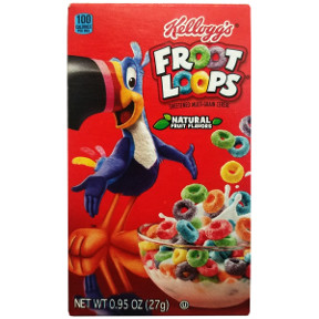 Kellogg's® Froot Loops® Cereal(box) F25-2509109-4100