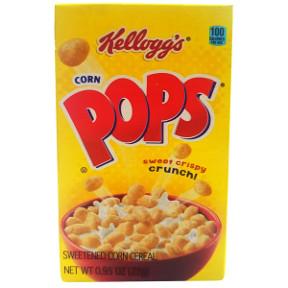 Kelloggs Corn Pops Cereal Box Travel Size Amp Miniature