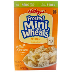 Kellogg's® Frosted Mini-Wheats® Cereal(box) F25-2509122-4100