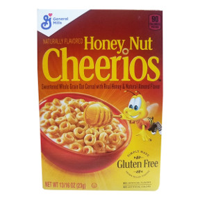General Mills® Honey Nut Cheerios Cereal(box) F25-2509202-4100