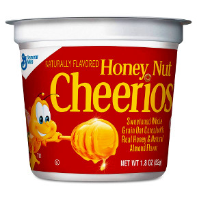 General Mills® Honey Nut Cheerios® Cereal (bowl) 1.8oz F25-2509202