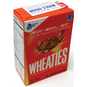 General Mills® Wheaties Cereal(box) F25-2509205-4100