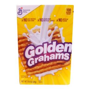 General Mills Golden Grahams Cereal Box Travel Size