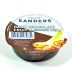 Sanders Dark Chocolate Fruit & Snack Dip Cup F28-4038702-3400-A single 2 oz. dipping cup of Dark Chocolate. Kettle Cooked and Gluten Free.